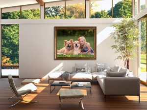 Wall Art With Frame